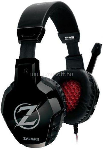 ZALMAN HPS300 Fekete Jack Gamer headset