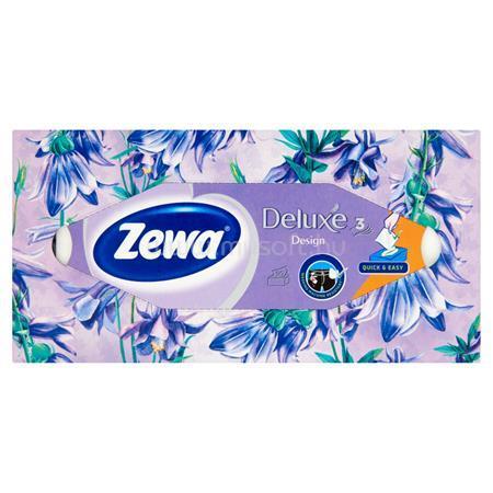 """ZEWA Kozmetikai kendő, 3 rétegű, 90 db, """"Family"""" illatmentes"""