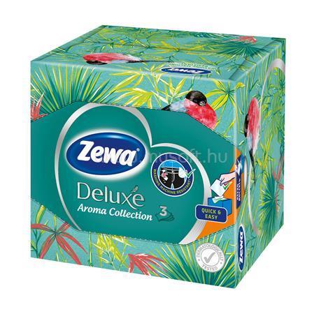 "ZEWA Papír zsebkendő, 3 rétegű, 60 db, ""Aroma Collection"""