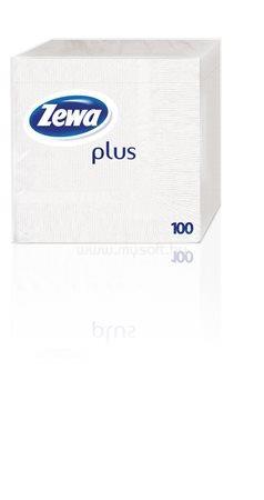 ZEWA Szalvéta, 100 db-os, fehér