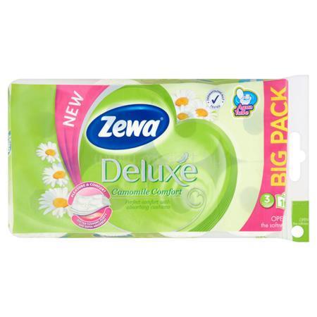 """ZEWA Toalettpapír, 3 rétegű, 16 tekercses, """"Deluxe"""", kamilla"""