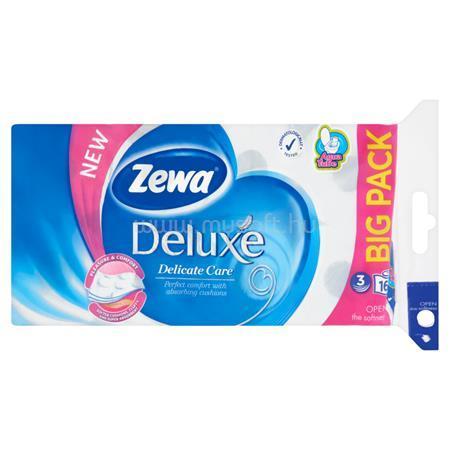 """ZEWA Toalettpapír, 3 rétegű, 16 tekercses, """"Deluxe, fehér"""