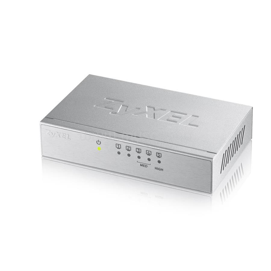 ZYXEL 5-Port Desktop Gigabit Ethernet Switch