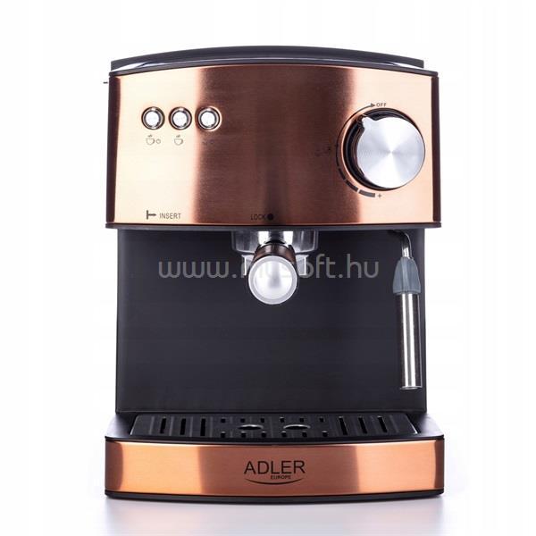 ADLER AD4404cr rózsaarany presszó kávé főző
