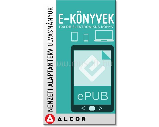 ALCOR Digitális könyvcsomag - NAT 100 Kötelező Iskolai kötet