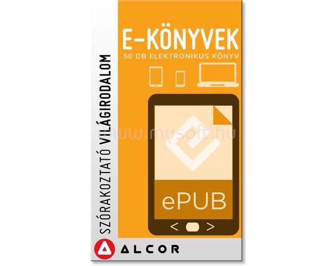 ALCOR Digitális könyvcsomag - Szórakoztató irodalom 50 kötet