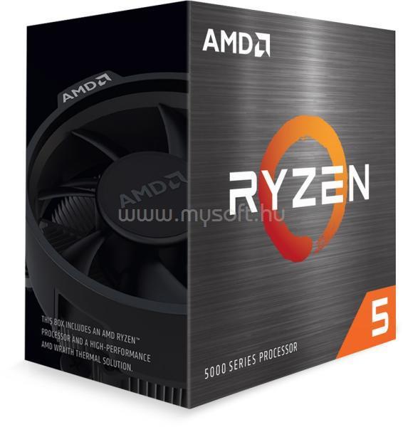 AMD Ryzen 5 5600X 3.70GHz AM4 BOX Wraith Stealth hűtő ventilátorral