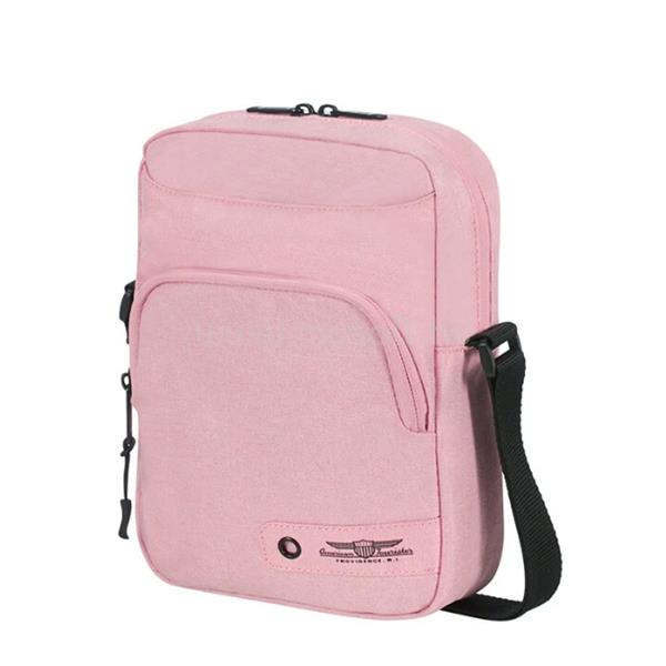 AMERICAN TOURISTER keresztpántos táska 125016-1694, Crossover Bag (PINK) -CITY AIM