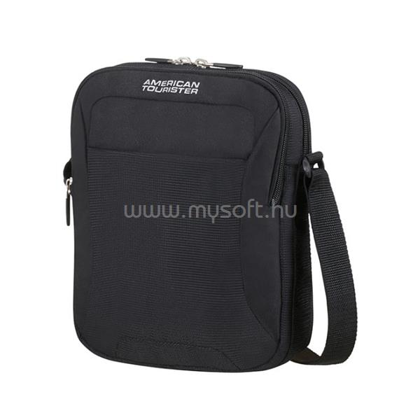 AMERICAN TOURISTER keresztpántos táska 74144-1817, Crossover Bag (SOLID BLACK) -ROAD QUEST