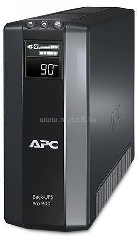 APC UPS 900VA Schuko Back Vonali-interaktív