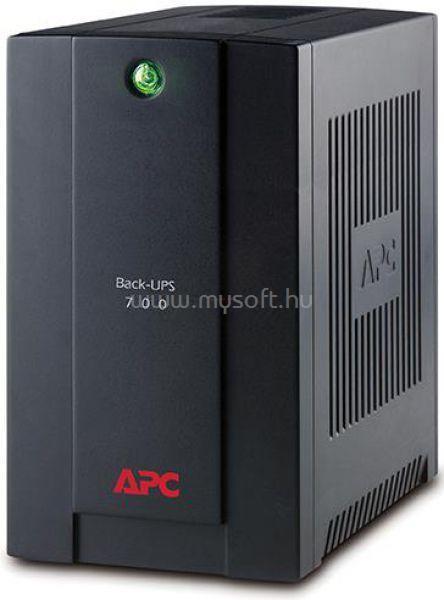 APC UPS 700VA Schuko Back Vonali-interaktív
