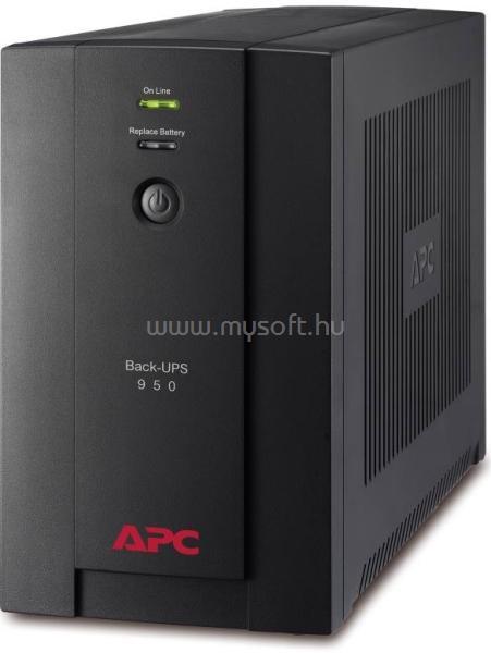 APC UPS 950VA C13/C14 Back Vonali-interaktív