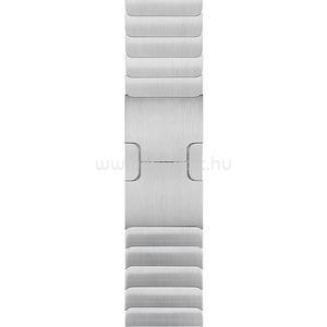 APPLE 38 mm-es, ezüstszínű fémszíj