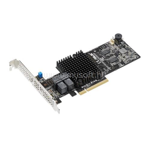 ASUS PIKE II 3108-8i-240PD/1G 8-port internal SAS 12G, H/W RAID 0, 1, 10, 5, 6,