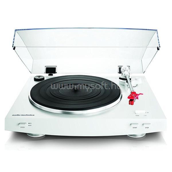 AUDIO-TECHNICA AT-LP3WH fehér USB/bakelit lemezjátszó