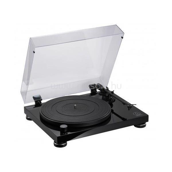 AUDIO-TECHNICA AT-LPW50PB teljesen manuális szíjhajtásos lemezjátszó