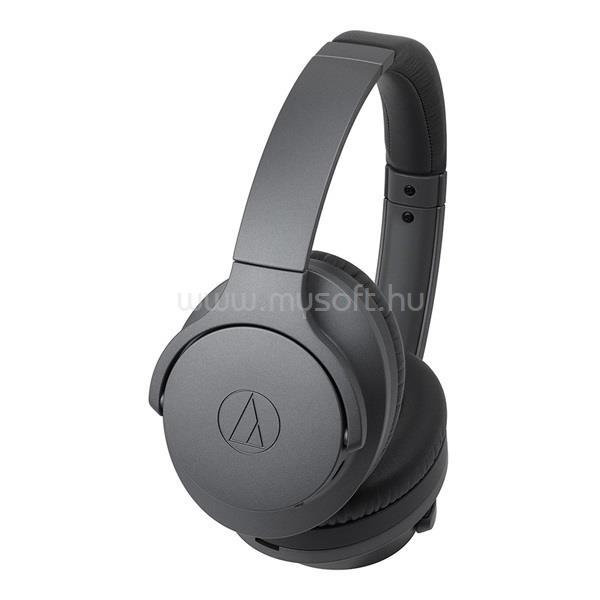 AUDIO-TECHNICA ATH-ANC700BTGY Bluetooth aktív zajcsökkentős szürke fejhallgató