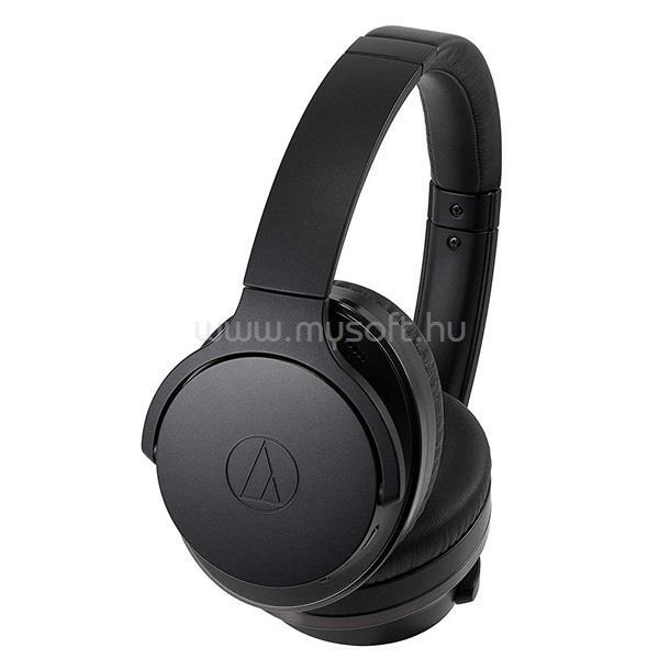 AUDIO-TECHNICA ATH-ANC900BT Bluetooth ANC fekete mikrofonos fejhallgató