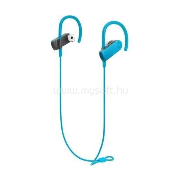 AUDIO-TECHNICA ATH-SPORT50BTBL Bluetooth türkizkék fülhallgató headset