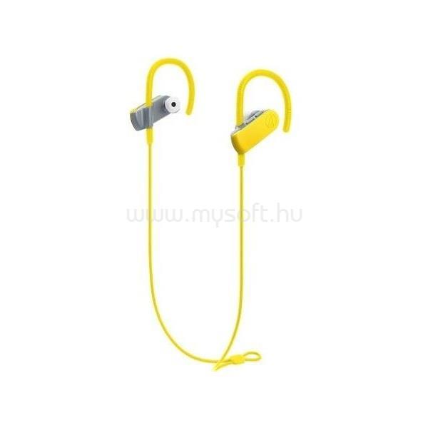AUDIO-TECHNICA ATH-SPORT50BTYL Bluetooth sárga fülhallgató headset