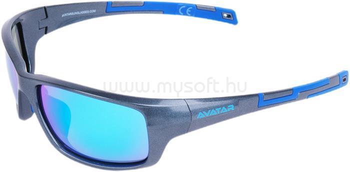 AVATAR Marauder Napszemüveg polarizált lencsével (szürke)
