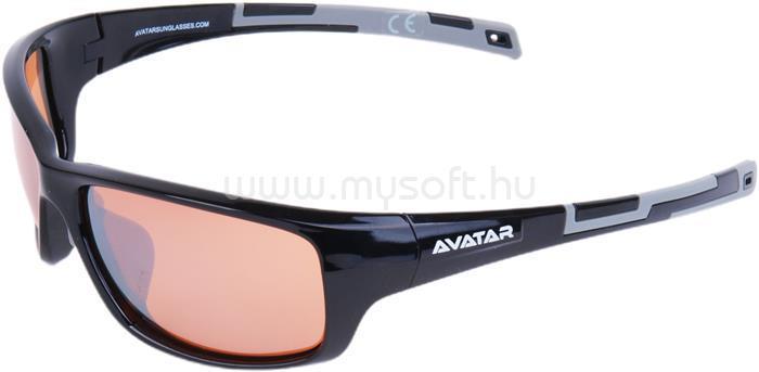 AVATAR Marauder Napszemüveg HD lencsével (fekete)