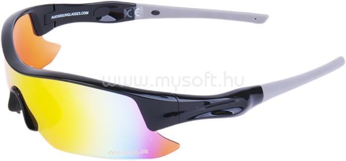 AVATAR Shield Napszemüveg HD lencsével (fekete)