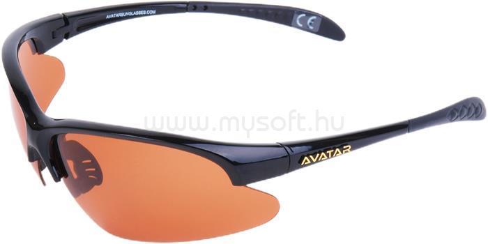 AVATAR War Master Napszemüveg HD polarizált lencsével (fekete-szürke)