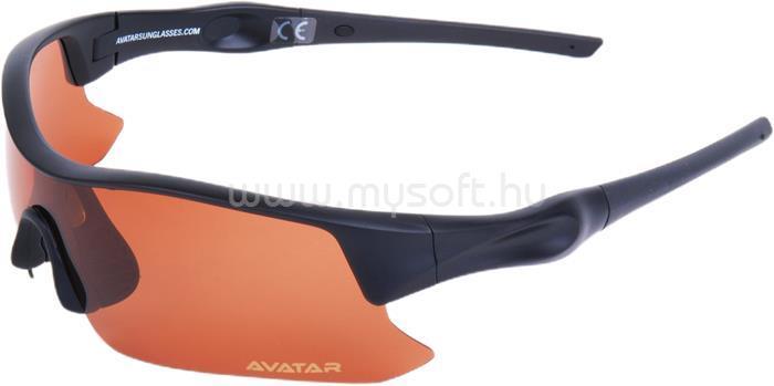 AVATAR Shield Napszemüveg HD polarizált lencsével (fekete)