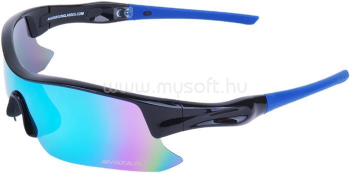 AVATAR Shield Napszemüveg polarizált lencsével (fekete)