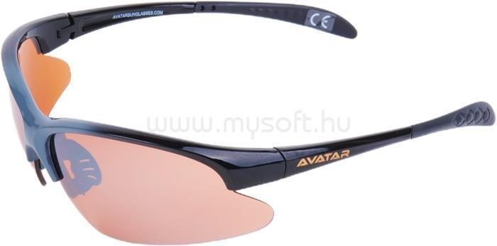 AVATAR War Master Napszemüveg HD lencsével (fekete-szürke)