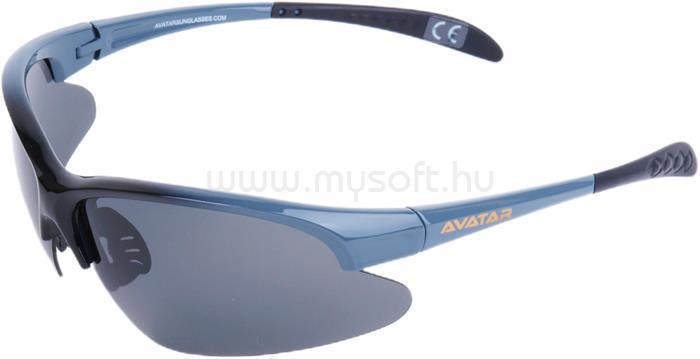 AVATAR War Master Napszemüveg polarizált lencsével (fekete-szürke)