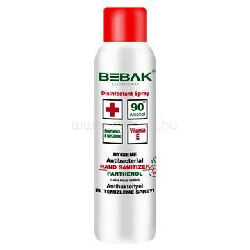 BEBAK fertőtlenítő hatású kéz és felület tisztító spray, 150 ml