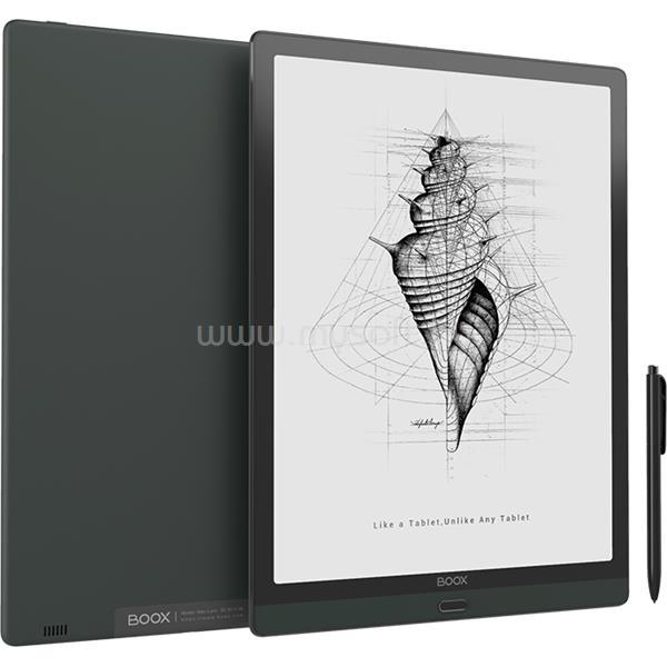"BOOX Onyx e-book 13,3"" - MaxLumi (Világítás,E-ink PMMA, 2200x1650/207PPI; 2GHz Octa, 4GB/64GB, WiFi; BT; 4300mAh; A10.0)"