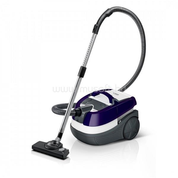 BOSCH BWD41740 padlizsán/fehér/szürke száraz és nedves takarítógép