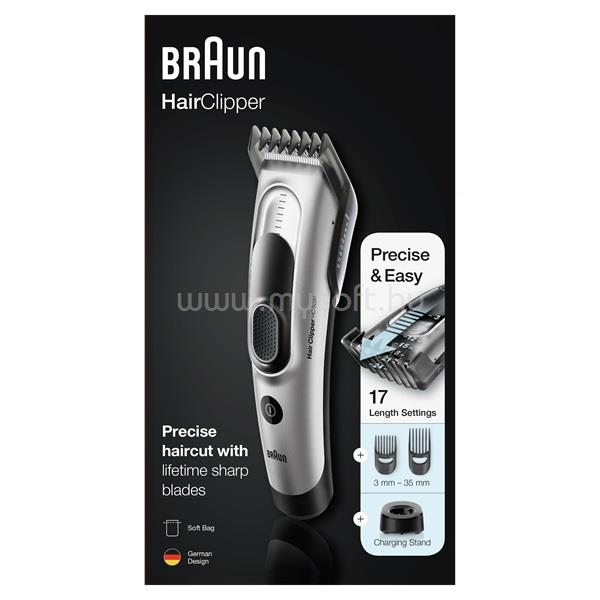 BRAUN HC5090 fekete-szürke hajvágó 10AS410008 large