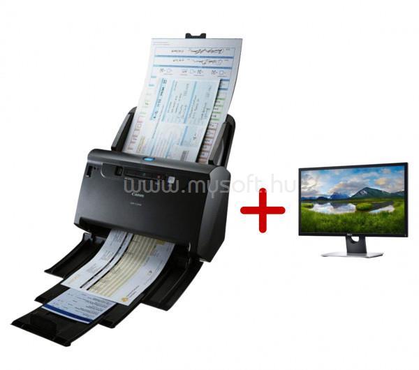 "CANON imageFORMULA DR-C240 Szkenner + DELL monitor 23.6""ajándékcsomag"