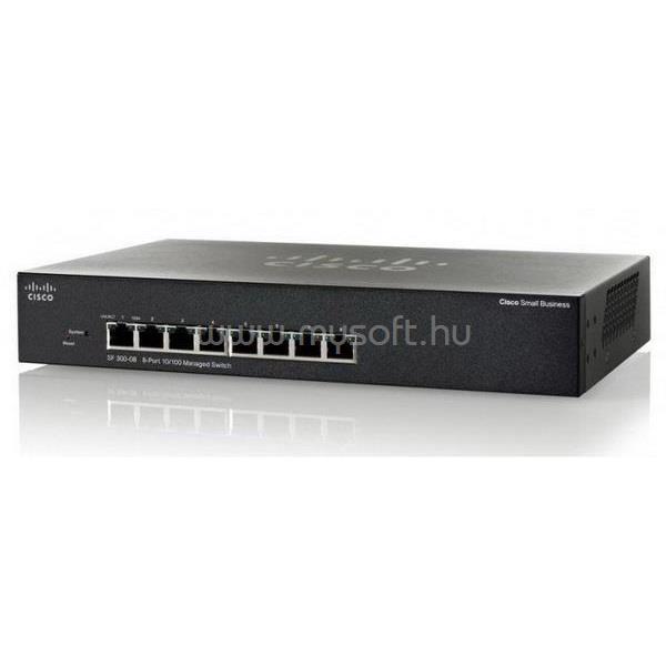 CISCO SF350-08 8-port 10/100 Managed Switch