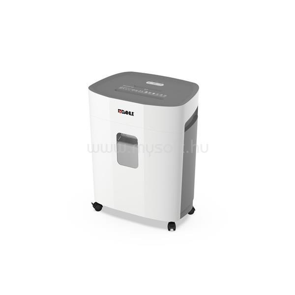 DAHLE Iratmegsemmisítő PaperSAFER 420, 10 lap (A4/80gr), CD/kártya vágás, P-5/F-2/O-1/T-5/E-4, 2.5 m/min, 25 liter