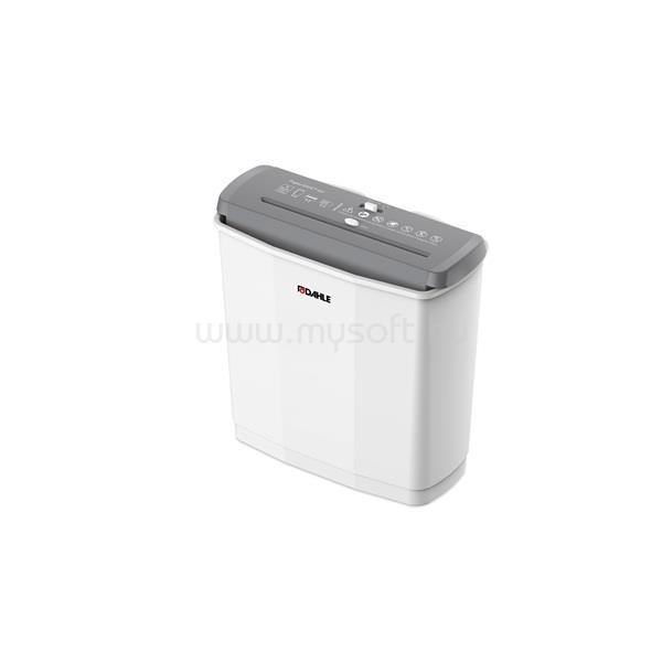 DAHLE Iratmegsemmisítő PaperSAFER 60, 6 lap (A4/80gr), kártya vágás, P-2/T-2/E-2, 6 m/min, 11 liter