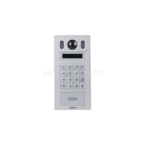 DAHUA IP video kaputelefon - VTO6221E-P (kültéri egység, 2MP, IK08, IP65, ICR, audio,RFID olvasó, Mifare, I/O,12VDC/PoE)