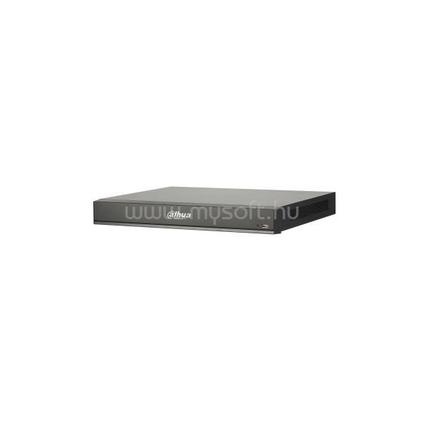 DAHUA NVR Rögzítő - NVR4208-8P-I (8 csatorna, 8xPoE; H265+, 200Mbps rögzítési sávszélesség, HDMI+VGA, 2xUSB, 2xSata, AI)