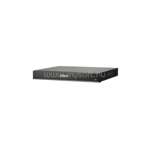 DAHUA NVR Rögzítő - NVR4216-16P-I (16 csatorna, 16xPoE; H265+, 200Mbps rögzítési sávszélesség,HDMI+VGA,2xUSB,2xSata, AI)