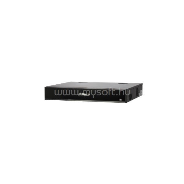 DAHUA NVR Rögzítő - NVR4416-16P-I (16 csatorna, H265+, 200Mbps, HDMI+VGA, 2xUSB, 4xSata, I/O, 16xPoE, AI)