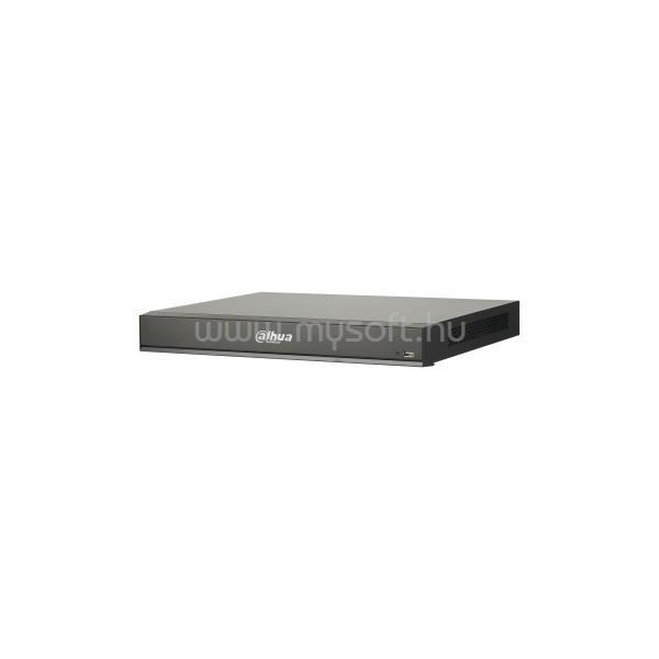 DAHUA NVR Rögzítő - NVR5216-16P-I (16 csatorna, 16port af/at PoE; H265+, 320Mbps, HDMI+VGA, 2xUSB, 2x Sata, I/O; AI)
