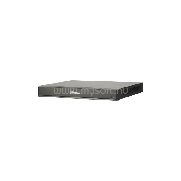 DAHUA NVR Rögzítő - NVR5216-8P-I (16 csatorna, 8port af/at PoE; H265+, 320Mbps, HDMI+VGA, 2xUSB, 2x Sata, I/O, AI)