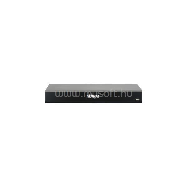 DAHUA XVR Rögzítő - XVR7208A-4K-I2 (8 port, 8MP/15fps, 5MP/20fps, H265+, 2x Sata, HDMI, VGA,  AI)