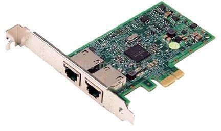 DELL Broadcom 5720 Dual Port Gigabit Ethernet NIC PCIe Low Profile