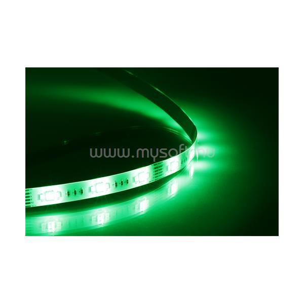 DELTACO SMART HOME SH-LSEX1M színes LED szalag, SH-LS3M bővítésére, 1m, 16 Mio szín,  WIFI