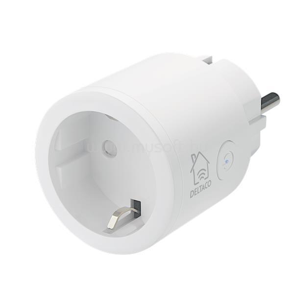 DELTACO SMART HOME SH-P01 beltéri konnektor, 10A WIFI
